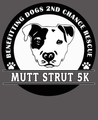 Mutt Strut 5k T-shirt Dogs 2nd Chance